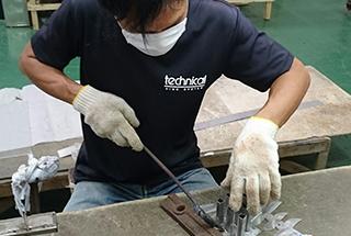自社工場での製作